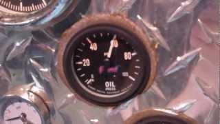 289 Ford custom engine on Hot-Run stand