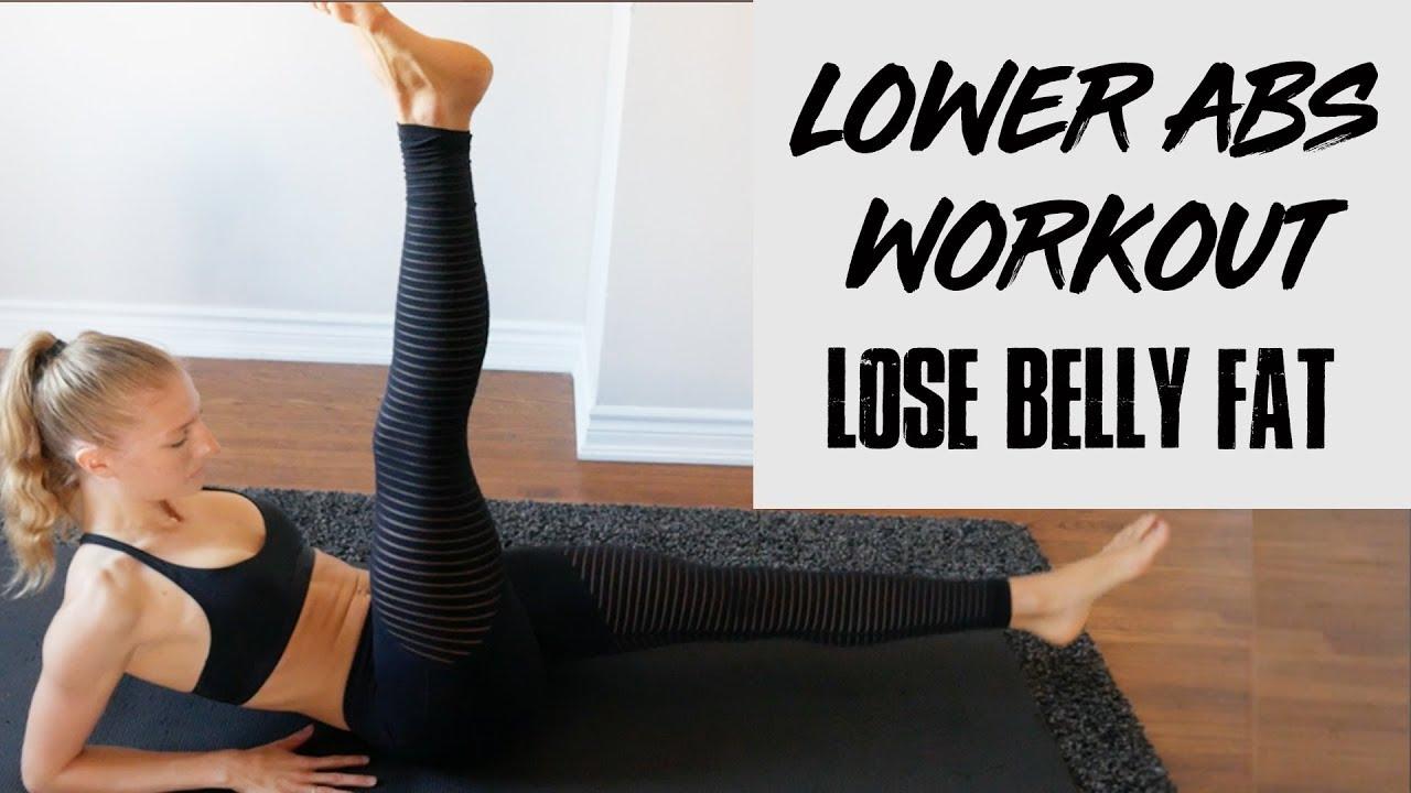 Lose lower abdomen weight