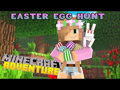 Minecraft - Little Kelly Adventures : EASTER EGG HUNT AND CANDY KINGDOM!