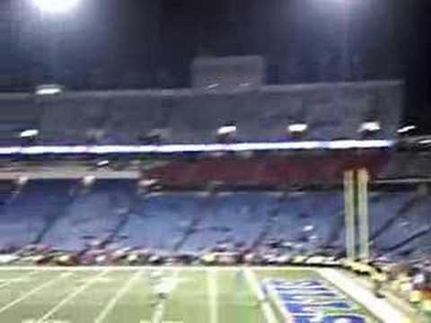 Ralph Wilson Stadium before a game