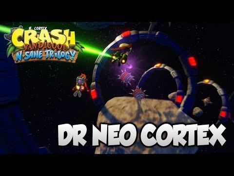 "Crash Bandicoot 2 - ""Dr Neo Cortex"" BOSS Fight & Ending Cutscene (PS4 N Sane Trilogy)"
