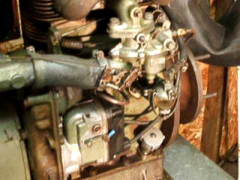 tjd wisconsin twin cylinder engine 802cc 18 2hp youtube wisconsin robin engine 3 cylinder wisconsin thd engine diagram for wiring #3