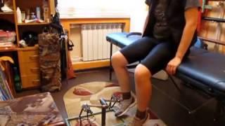 Лечение суставов ног с помощью мини- велотренажера