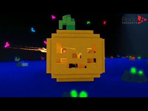 Halloween Pumpkin | Chad & Audrey Build A Boat For Treasure in Roblox