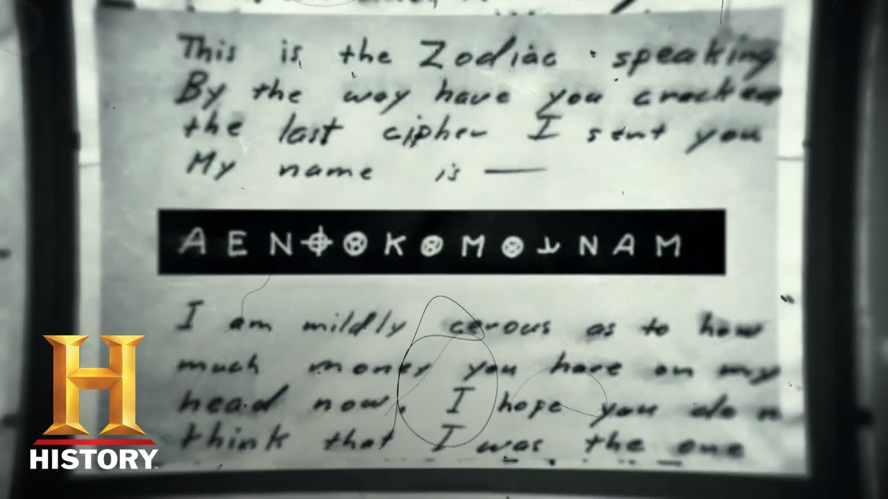The Hunt For The Zodiac Killer The Holy Grail Of Unbroken Ciphers