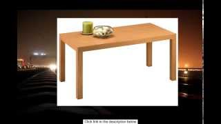 Dorel Home Products Parsons Coffee Table Natural