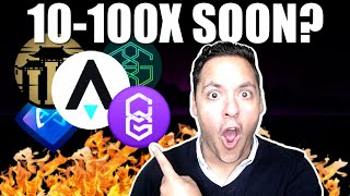 TURN $5K INTO $500,000 WITH THESE GAMING ALTCOINS?!! (100X POTENTIAL)