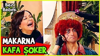 ŞERİ, ŞOKER'İN KAFASINA MAKARNA DÖKTÜ! - Bez Bebek 58. Bölüm
