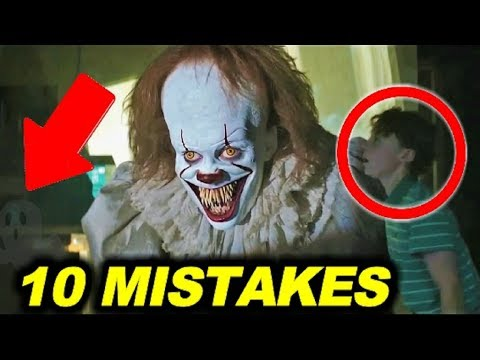 "10 BIGGEST MISTAKES in ""IT"" ( 2017 ) - 99% couldn"
