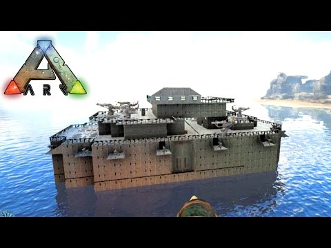Ark: Survival Evolved | Return to the Island | #4 BOAT SHOWCASE