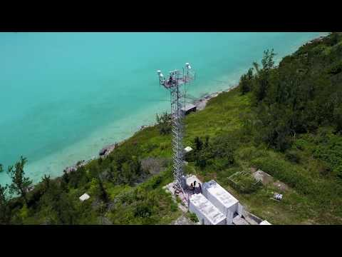 BIOS-Tudor Hill Marine Atmospheric Observatory Aerial