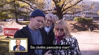 Kā rīdzinieki cepināja Renāru Zeltiņu - ielu intervijas.