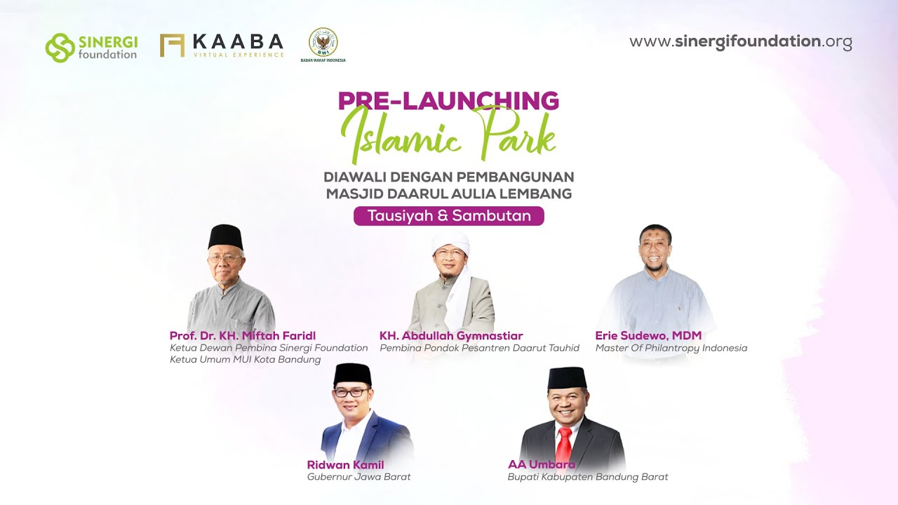 Live Pre Launching Islamic Park Youtube