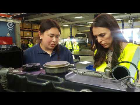 A day on the road with Jacinda Ardern