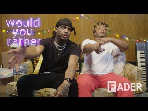 Ski Mask The Slump God And Juice WRLD Get Baked On 'Would You Rather'