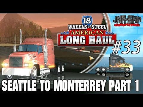 18 WOS ALH | Seattle to Monterrey Crude Oil | Part 1