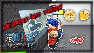 Noi DIBROKE in prigione UN PEZZO PLATINO FUNNY MOMENTS - Parte 2 - (ROBLOX)