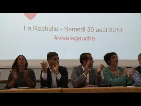 """PS: démonstration de force des """"frondeurs"""" à La Rochelle"""