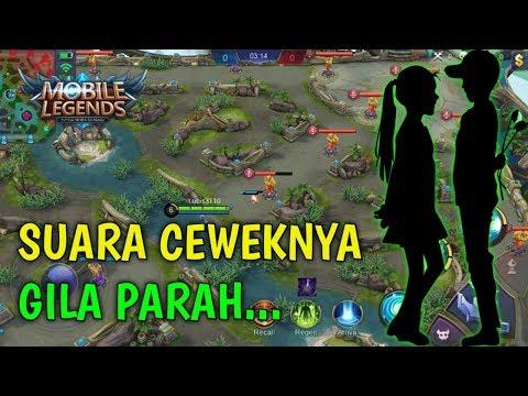 PACARAN DI GAME OPEN VOICE SUARA CEWEKNYA MENDESAH-DESAH! | Mobile Legends WTF