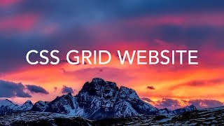 CSS Grid Responsive Website Layout thumbnail