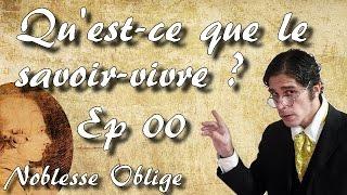 Noblesse Oblige #00 (Pilote ) - Qu