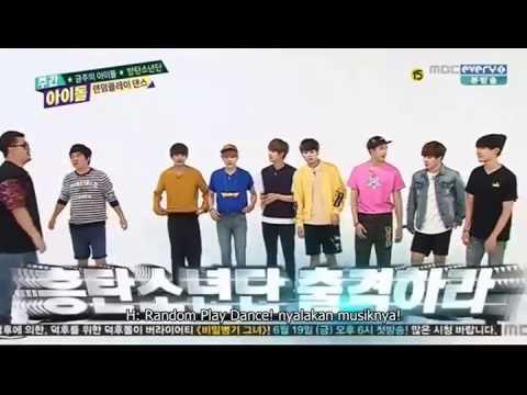 [INDO SUB] 150617 Weekly Idol  BTS part 1