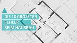 Die 10 größten Fehler beim Hausbau - Checkliste | BAUEN & WOHNEN