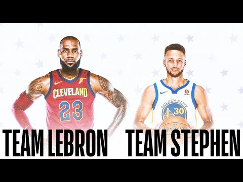 LeBron James and Stephen Curry Pick 2018 NBA All-Star Game Teammates (Parody)
