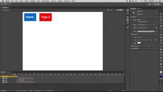 Creating Buttons / Navigation In Adobe Flash Cc