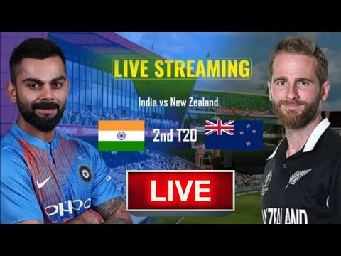 🔴LIVE:- India Vs Newzeland 2nd T20 Live Streaming, Ind Vs NZ 2nd T20 Live Cricket Match