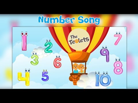 Numbers Song I Learn Numbers I Short Version-Number Rhymes I Learn to Count from 1-10 I The Teolets