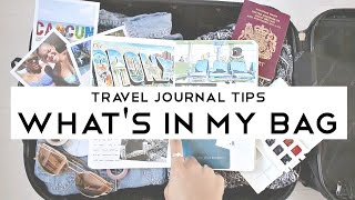 Travel Journal Tips #1 · What