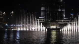 Dubai Fountain , U.A.E.  playing Jacky Cheung 張學友
