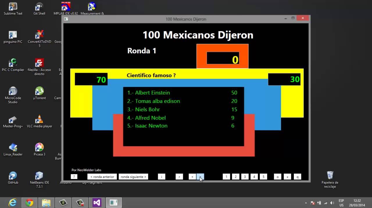 Simulador Del Juego 100 Mexicanos Dijeron Descripcion Youtube
