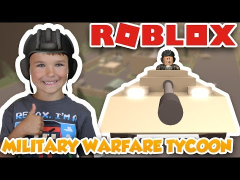 I AM GOING TO WAR WITH A TANK in ROBLOX MILITARY WARFARE TYCOON