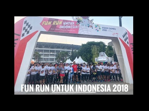Serunya Event Fun Run Untuk Indonesia Asian Games 2018
