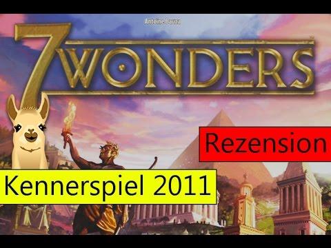 7 Wonders / Kennerspiel des Jahres 2011 / Anleitung & Rezension / SpieLama