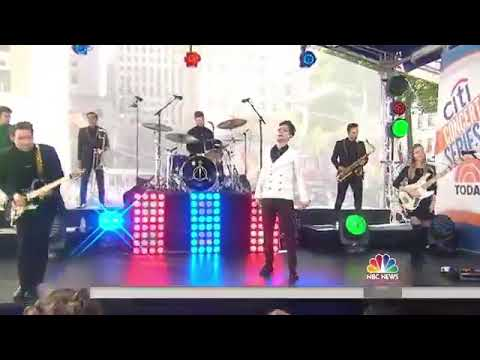 Panic! At The Disco Performing Say Amen On The Today Show!