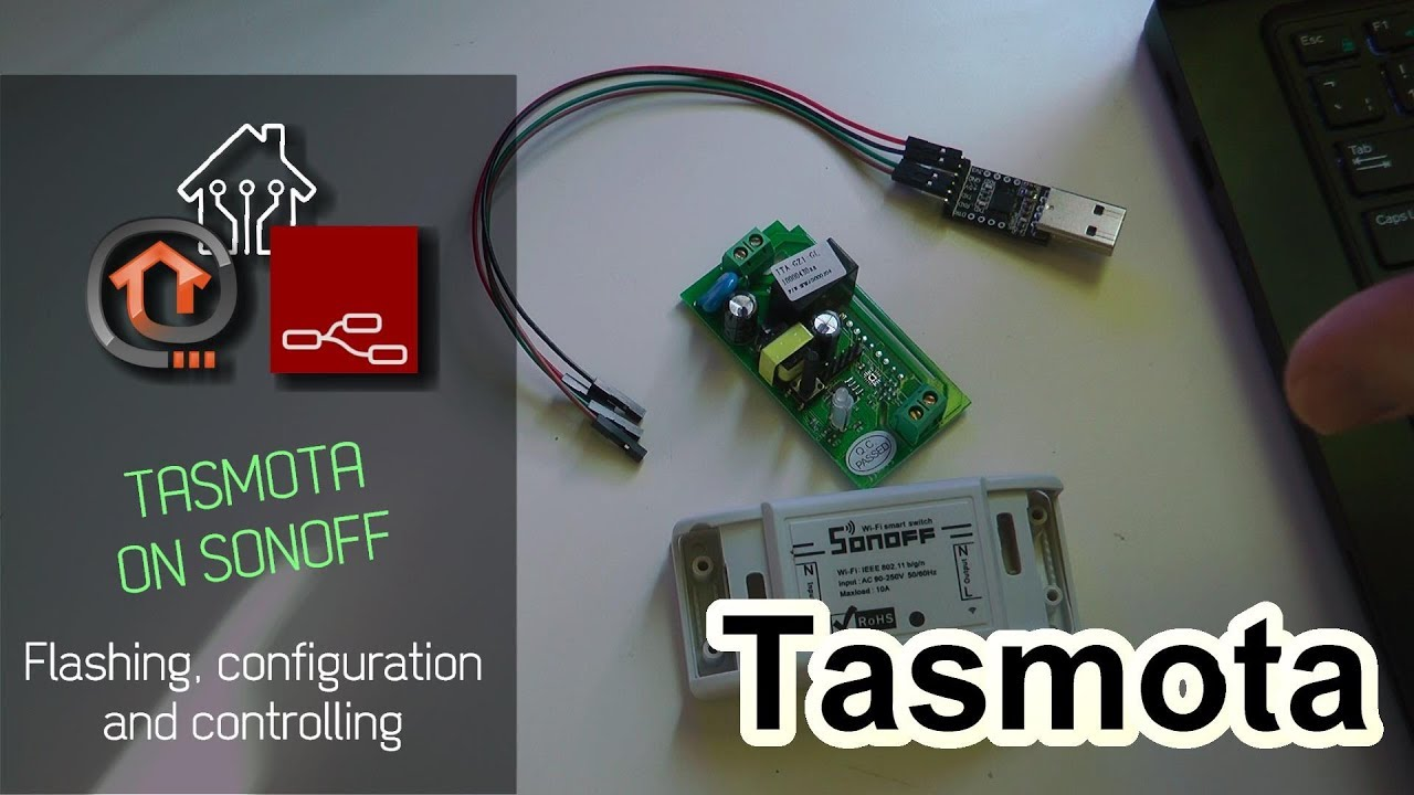 How to flash Tasmota firmware to Sonoff Basic