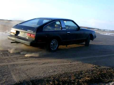 1981 toyota celica gt 22r donuts and burnouts - YouTube