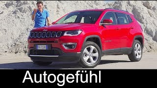 Jeep Compass FULL REVIEW test onroad offroad Limited Trailhawk all-new neu 2017/2018 - Autogefühl