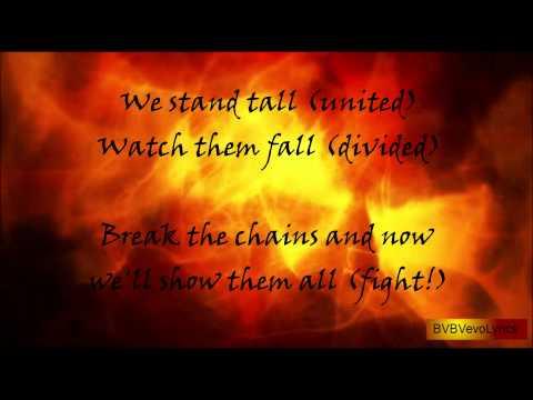 BVB Set The World On Fire Lyrics