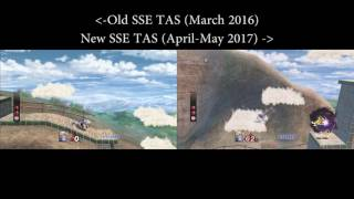 Project M Subspace Emissary TAS Comparison: Sea of Clouds