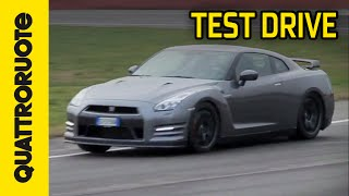Nissan GT R Black Edition 2015 Test Drive