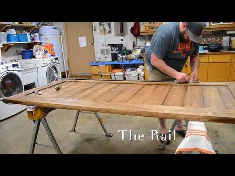 DIY Barn Door With Hardware
