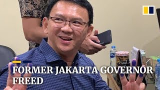 Former Jakarta governor Basuki Tjahaja Purnama released from jail