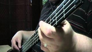Mana Rayando el sol Bass Cover
