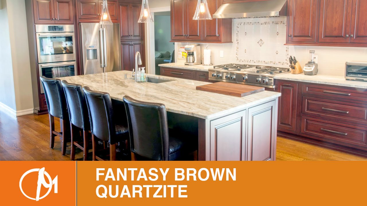 Fantasy Brown Quartzite Kitchen Countertops VI