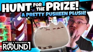 Pusheen Pillow! Hunt for the Prize at Round 1 Arcade! Arcade Ticket Challenge! TeamCC
