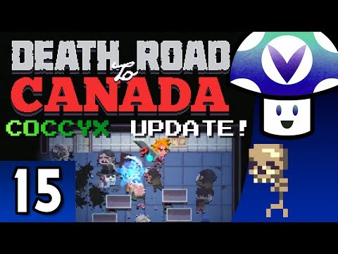 Vinesauce Vinny  Death Road to Canada: COCCYX Update! part 15 + Art!
